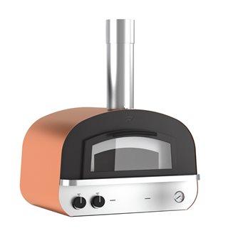 Four à cuisson directe hybride bois/gaz