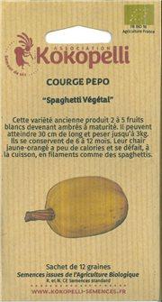 Graines de courge Spaghetti Végétal