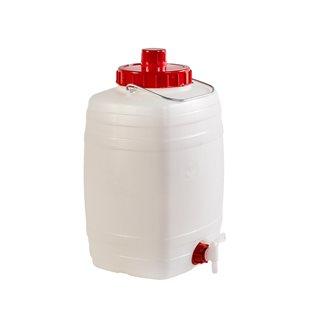 Tonnelet alimentaire rectangulaire 10 litres