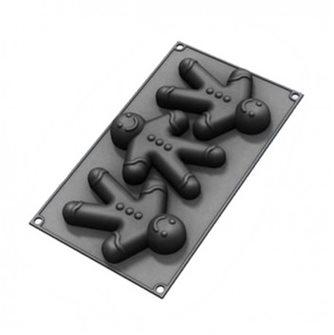 Moule 3 mannele silicone starflex